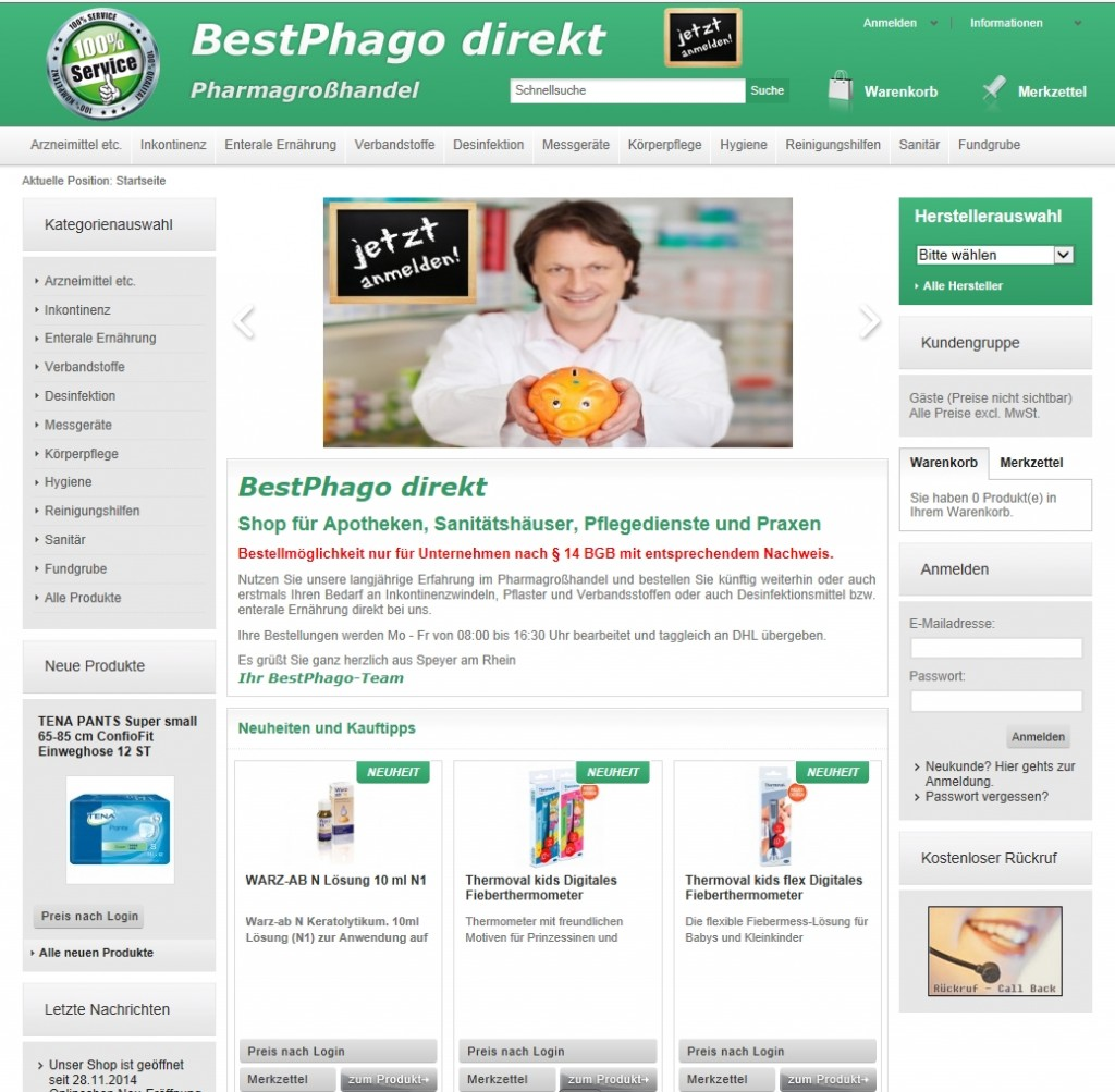 hier geht es zum BestPhago direkt Onlineshop